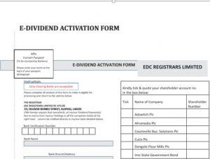 E- Mandate Form